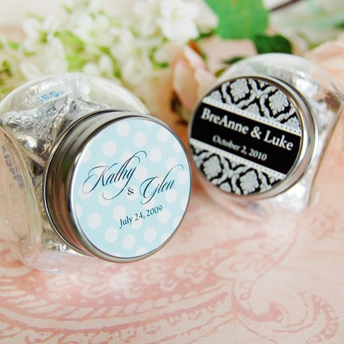 Personalized Wedding Mini Candy Jar