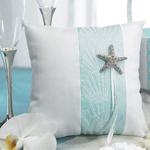 Seaside Allure Ring Bearer Pillow