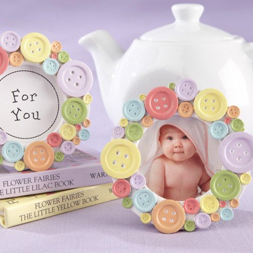 Cute as a Button Place Frame