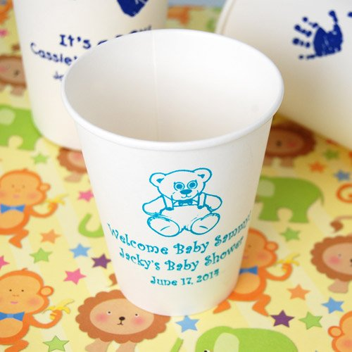 Personalized Baby Shower Paper Cups