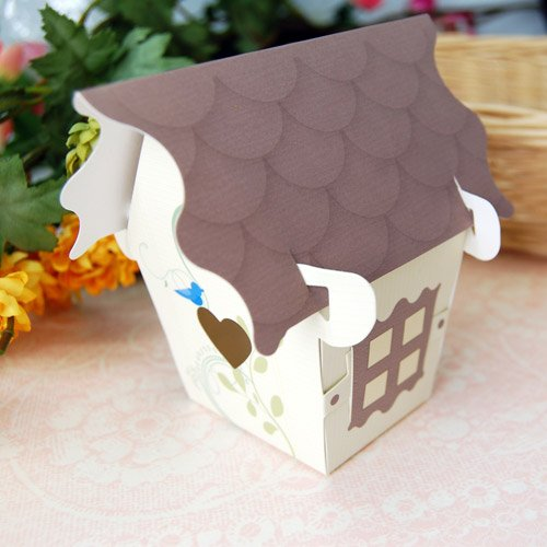 Bird House Favor Boxes