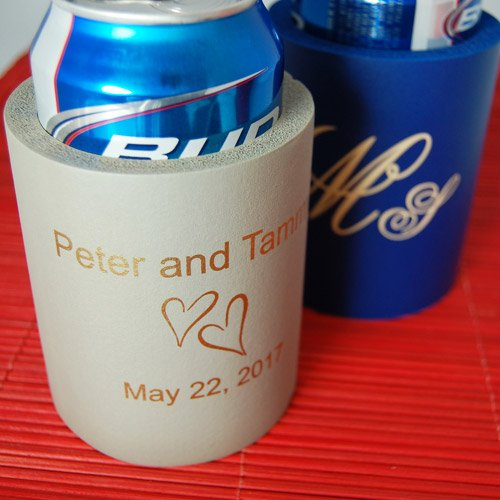 Personalized Wedding Koozie