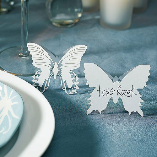 Die-cut Butterfly Place Cards