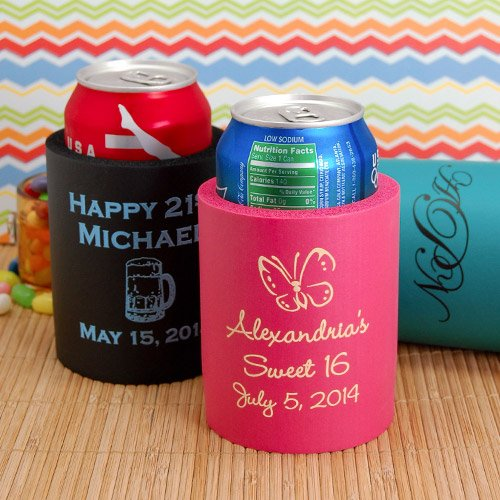 Personalized Birthday Koozie