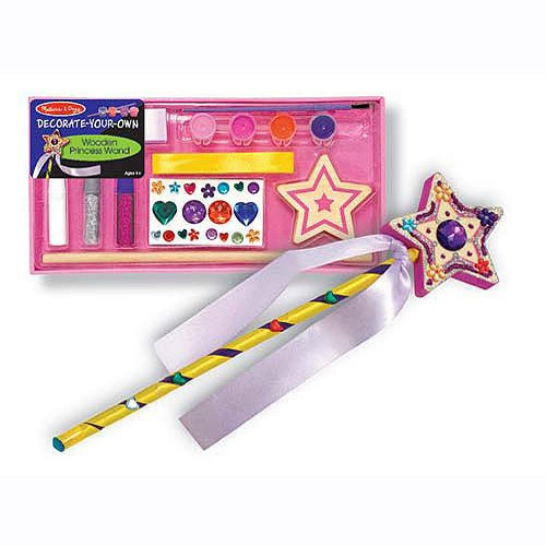 Decorate Your Own Princess Wand Party Favor