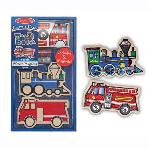 Decorate Your Own Vehicle Magnets Party Favor