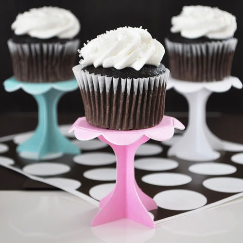 Color Cupcake Stands