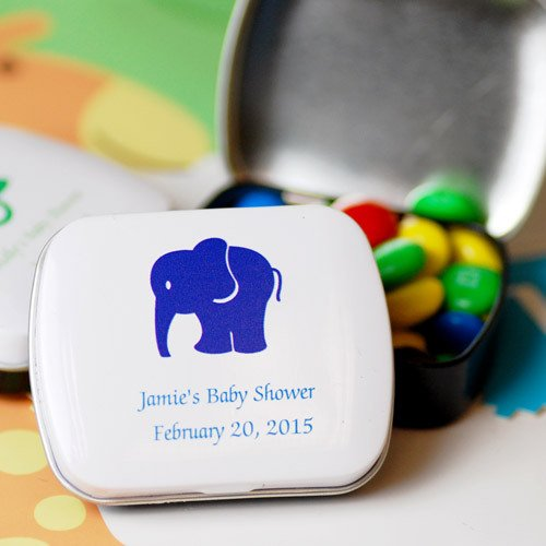 Custom Printed Baby Shower Candy Tin