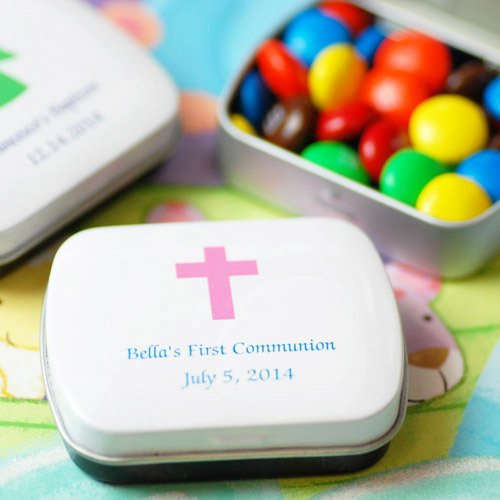 Custom Printed Party Candy Tins