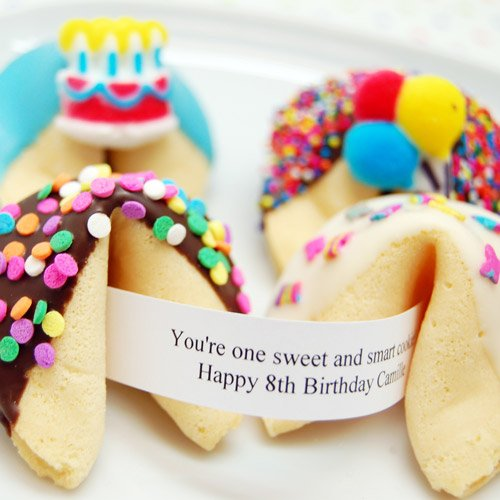 Custom Birthday Fortune Cookie