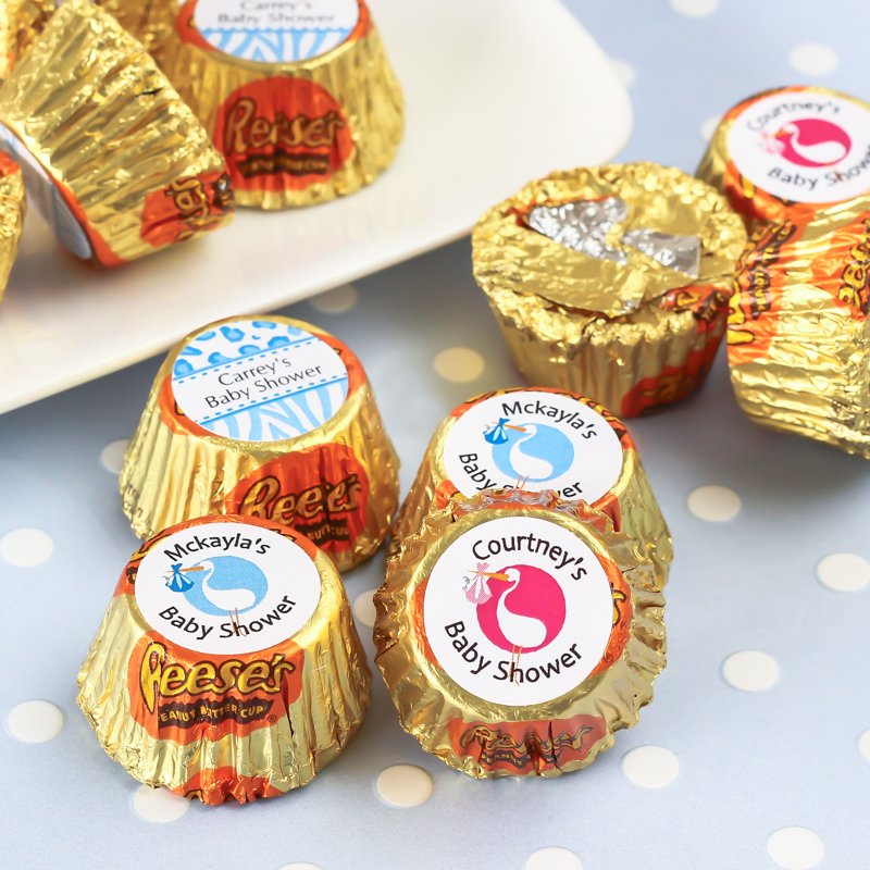 Personalized Baby Shower Reese's Peanut Butter Cups
