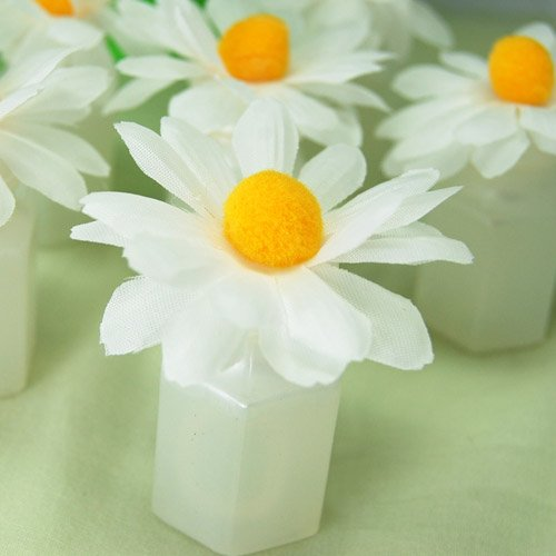 Daisy Bubble Favors