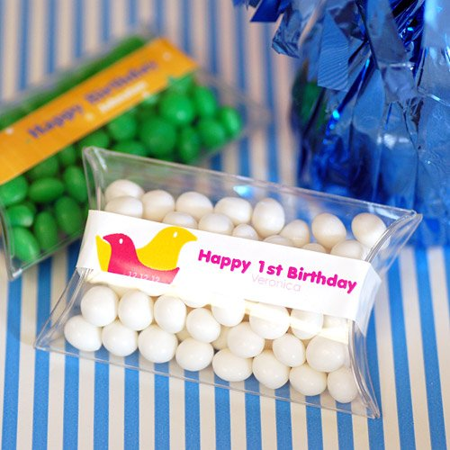 Mini Personalized Birthday Candy Pillow Pack