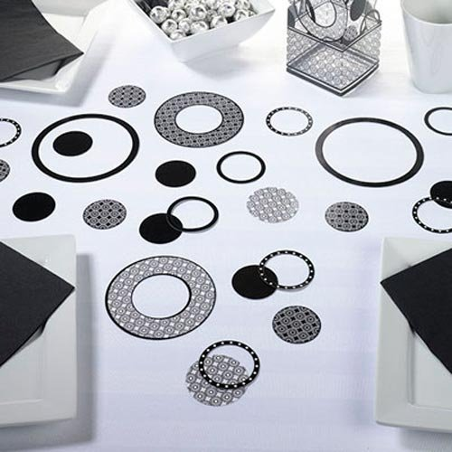 Circles Design Table Decorations