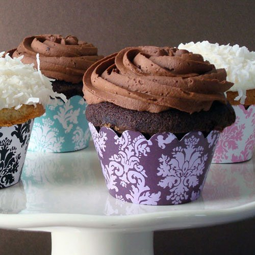 Patterned Cupcake Wrapper