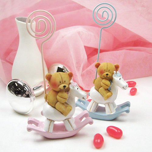 Teddy Bear Rocking Horse Photo Stands