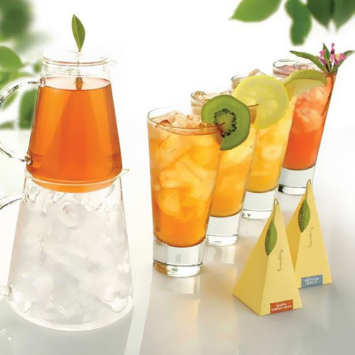 Iced Tea Infusers with Personalized Labels