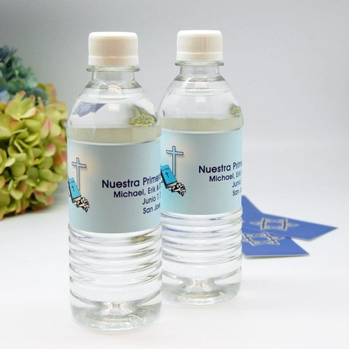 Personalized Religious Bottled Water