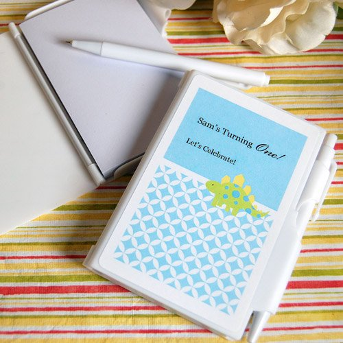 Personalized Kids Birthday Notebook Favor