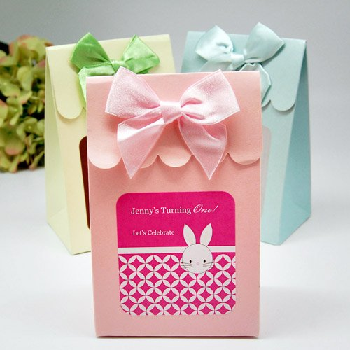 Personalized Kids Birthday Candy Bags