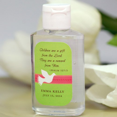 Personalized Religious Hand Sanitizer