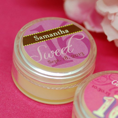 Personalized Birthday Lip Butter