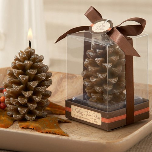 Mini Scented Pine Cone Candles