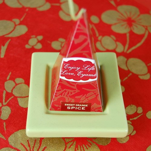 Holiday Tea Sachets with Personalized Labels