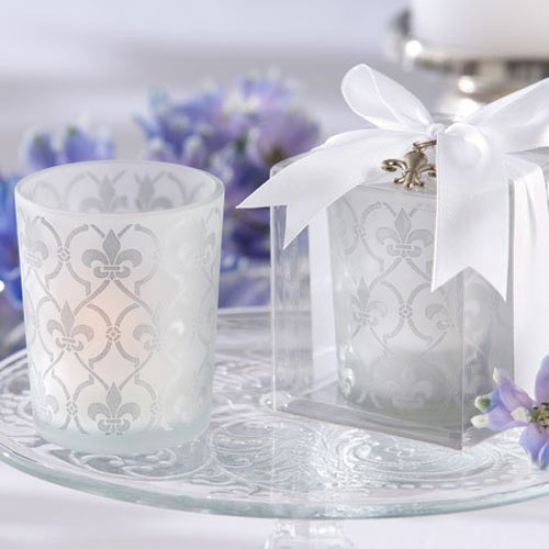 Fleur-De-Lis Tea Light Holders