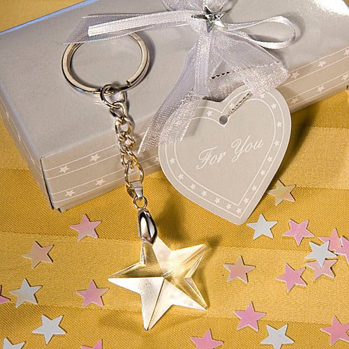 Crystal Star Key Chain