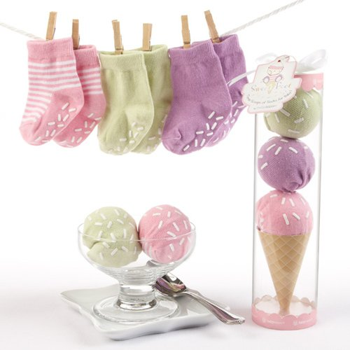3-Scoops of Ice Cream Socks Gift Set