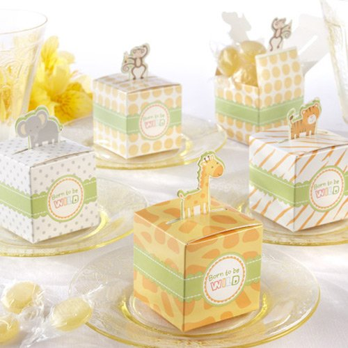 Mini Jungle Animal Favor Boxes