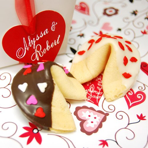 Custom Valentine's Day Fortune Cookies