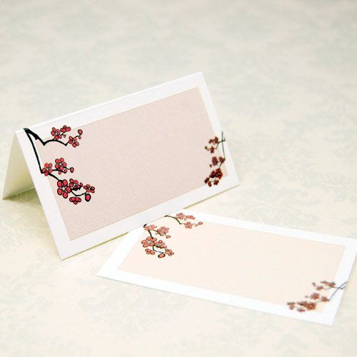 Wedding Place Cards - Blossoms