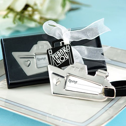 Cruise Ship Nautical Luggage Tag