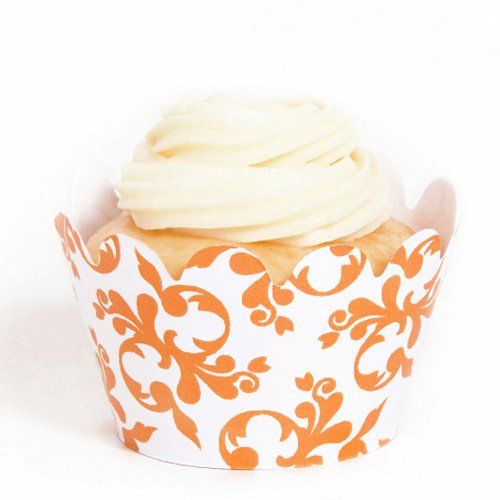 Mini Filigree and Swirls Cupcake Wrappers