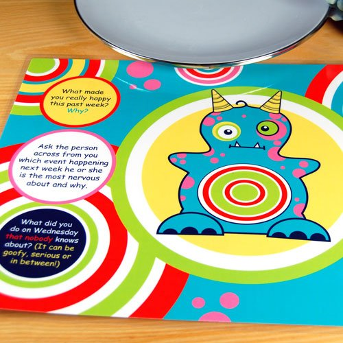 Creatures Laminated Conversational Placemats