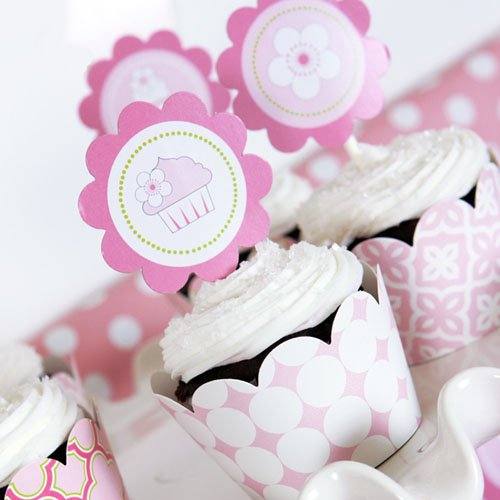 Pink Cake Themed Party Kit