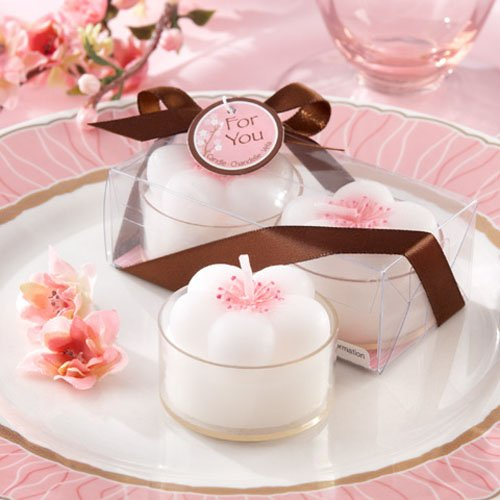 Cherry Blossom Tea Light Candles