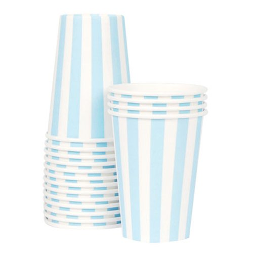 Pretty Stripes Paper Cups