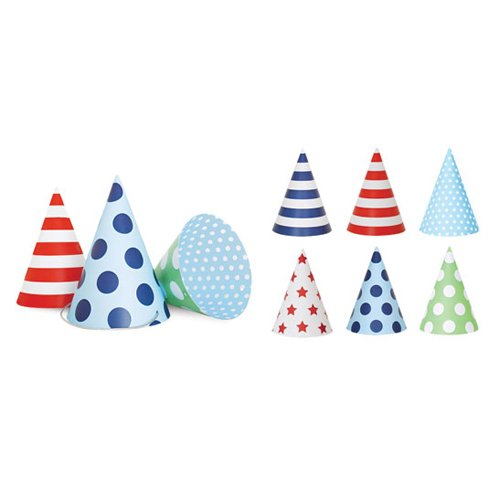 Blue Style Party Hats