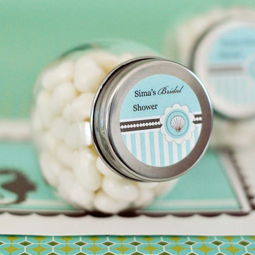 Personalized Beach Themed Mini Candy Jar