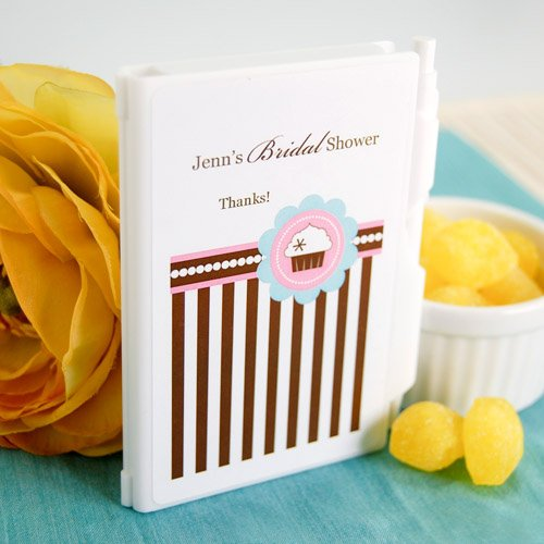 Personalized Cupcake Themed Notebook Favor
