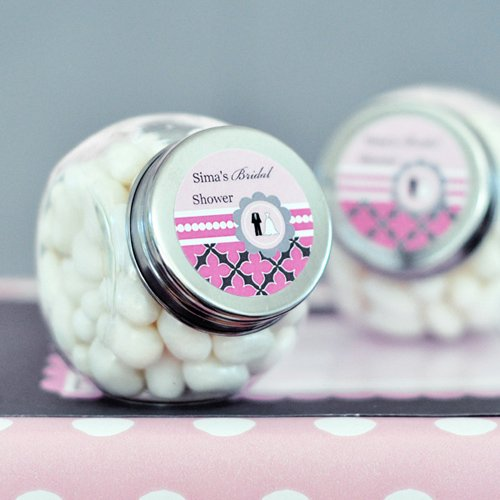 Personalized Wedding Shower Mini Candy Jar