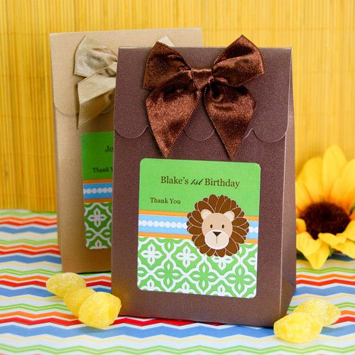 Personalized Jungle Safari Candy Bags