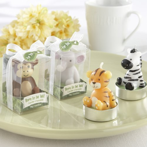 Mini Jungle Animal Candles
