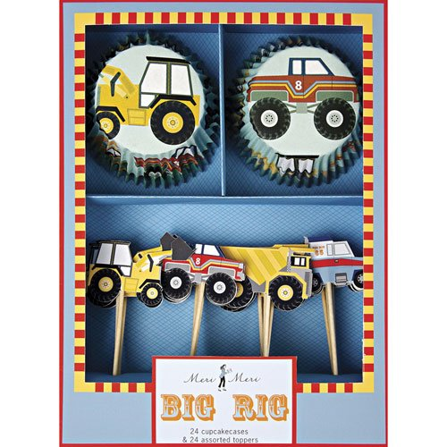 Big Rig Party Cupcake Kit