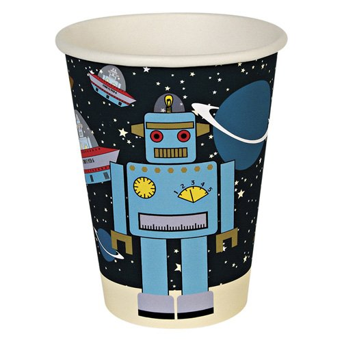Space Robot Party Cups