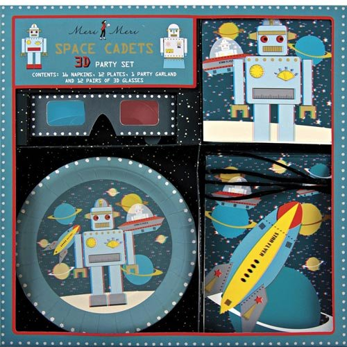Space Robot 3-D Party Kit