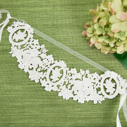Classic White Floral Party Garland